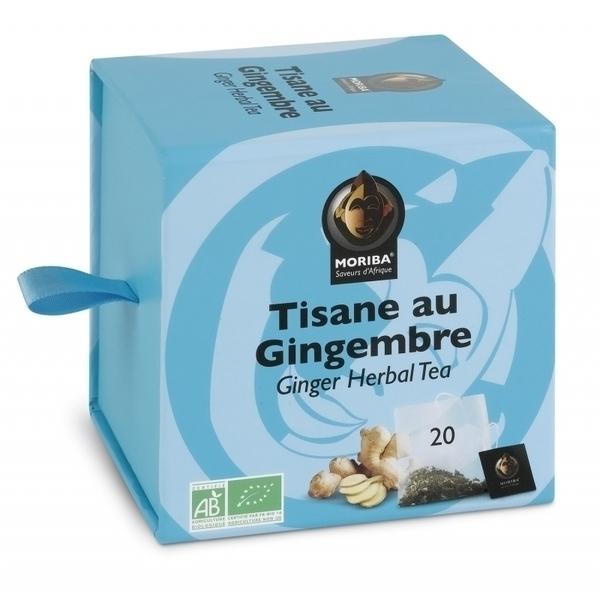 Moriba - Tisane au Gingembre - Boîte Collector