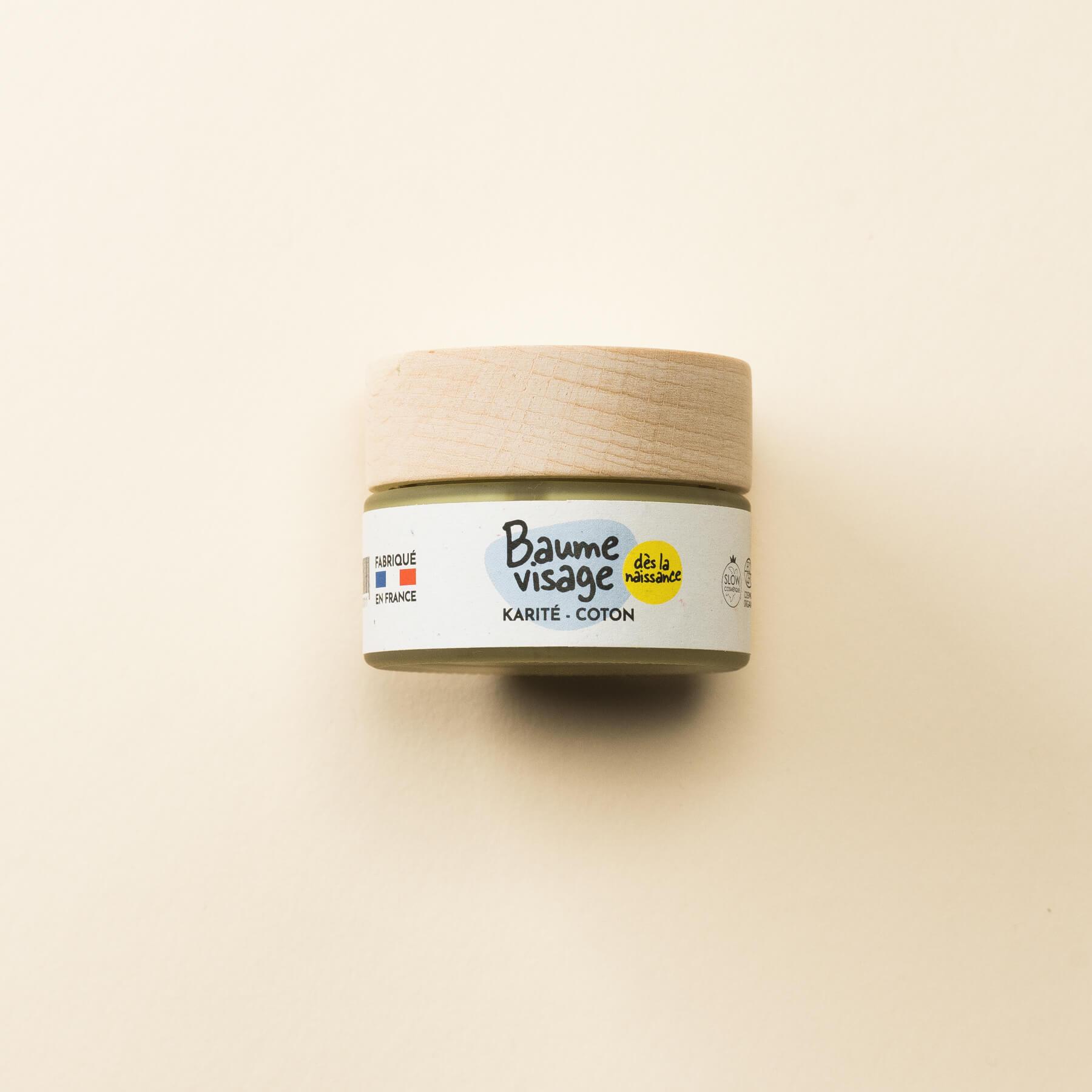 Pototam - Baume Visage Karité et Coton 30 ml