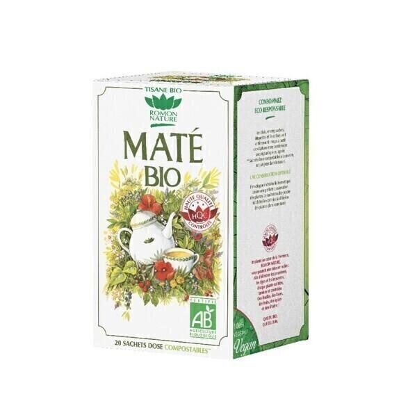Romon Nature - Tisane Maté bio - 20 sachets