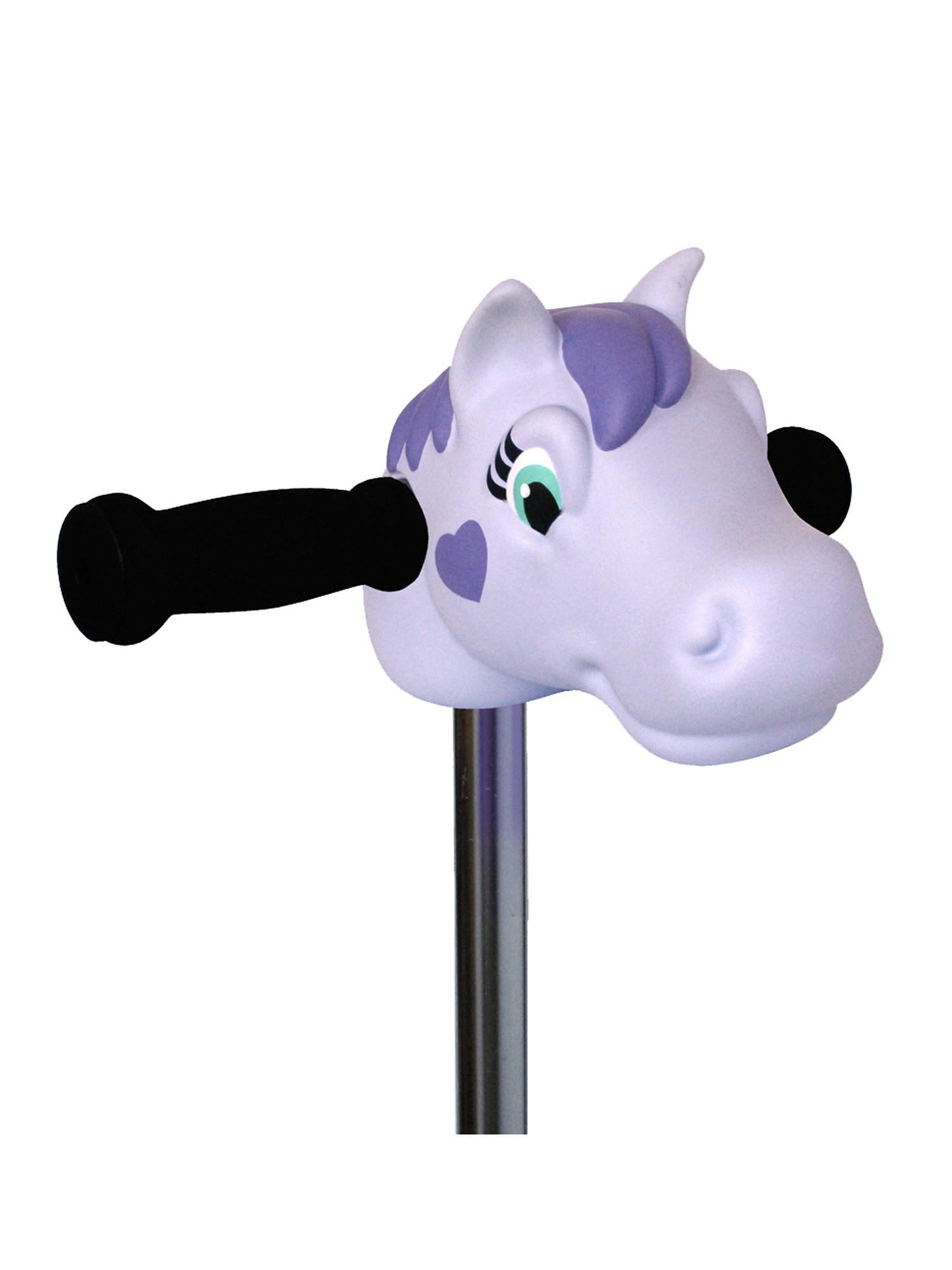Micro - Tête de poney violet