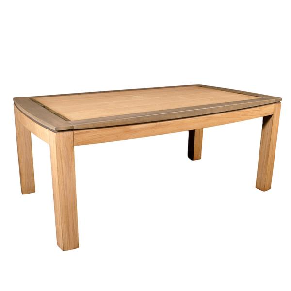 Gontier - Table extensible en chêne 100% Fabrication Française