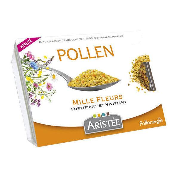 Aristée Pollenergie - Pollen Mille Fleurs frais - Aristée - Barquette de 250g