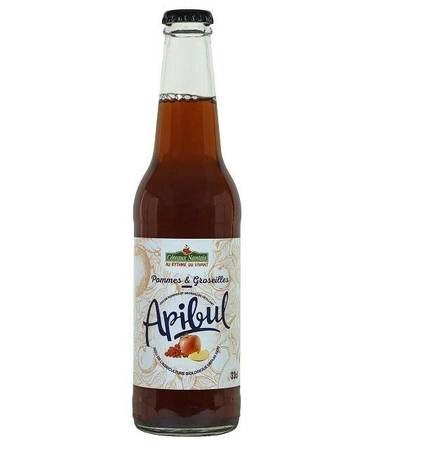 Côteaux Nantais - Apibul Pommes Groseilles 33cl Bio