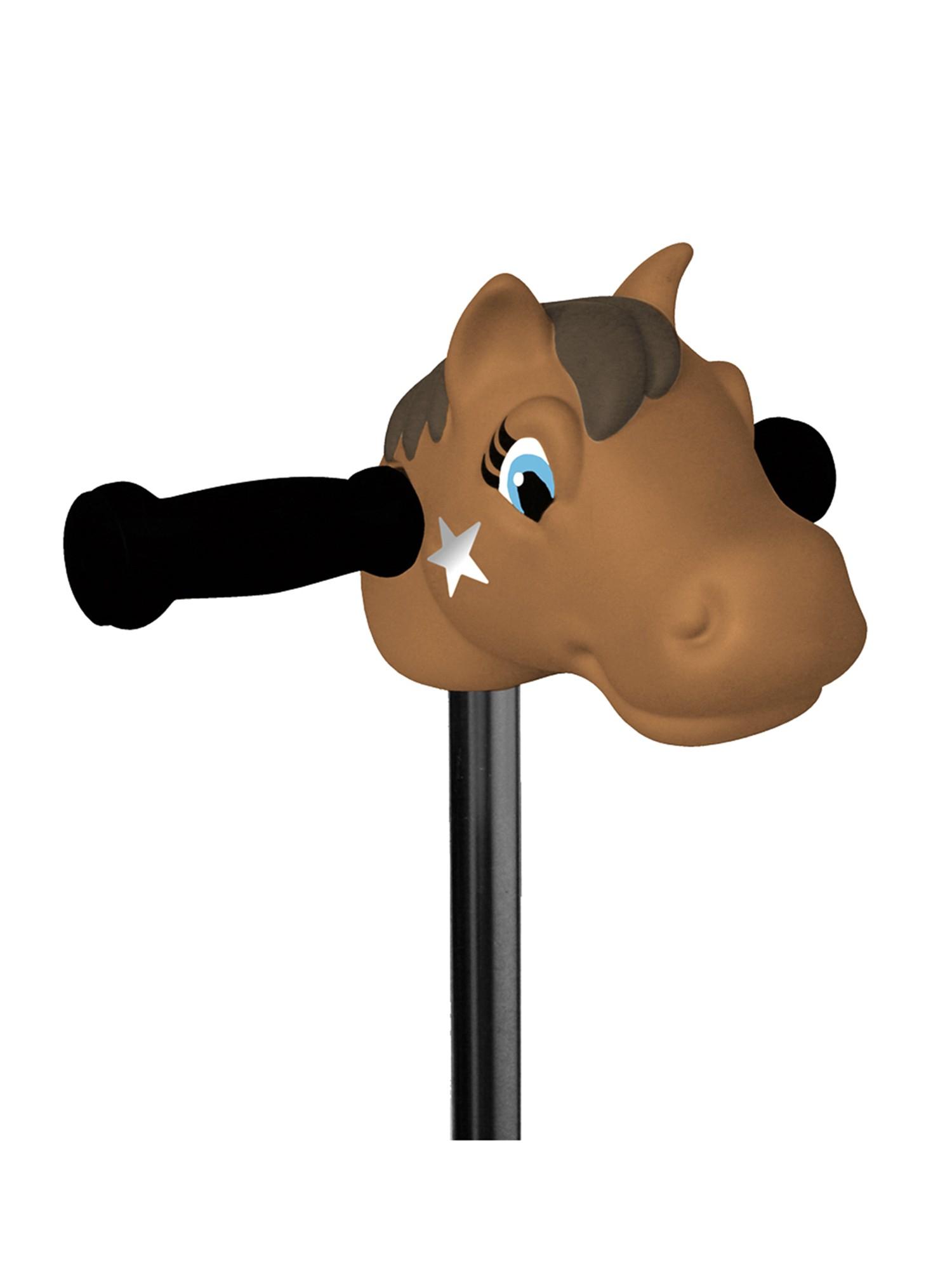 Micro - Tête de poney marron