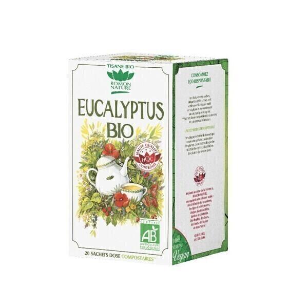 Romon Nature - Tisane Eucalyptus bio - 20 sachets