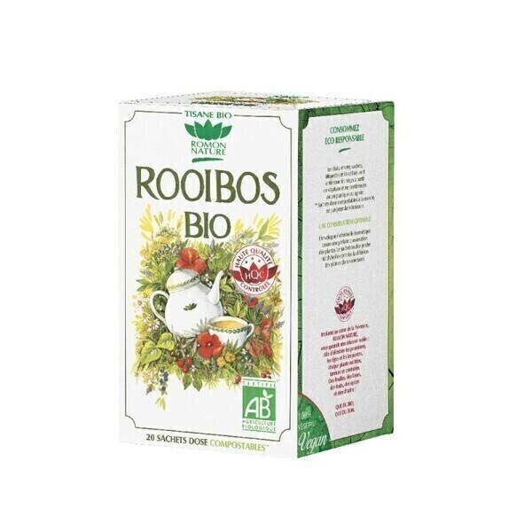 Romon Nature - Tisane Rooibos bio - 20 sachets