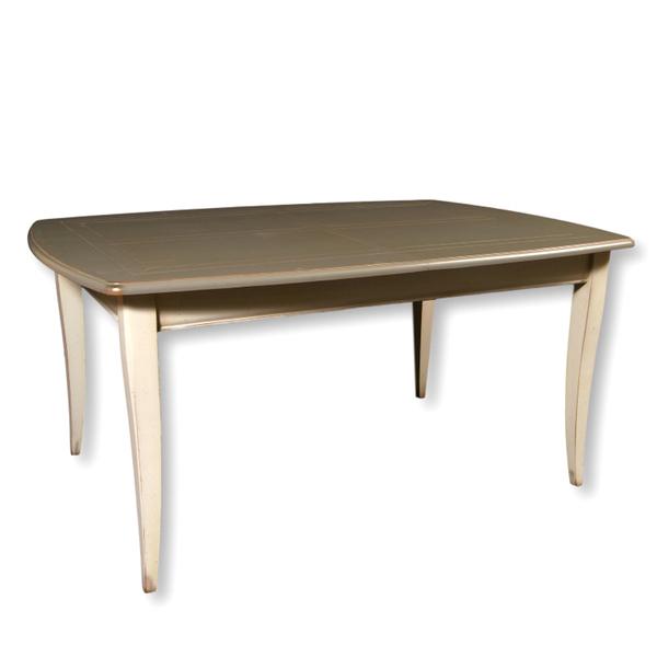 Gontier - Table ovalisée en merisier massif