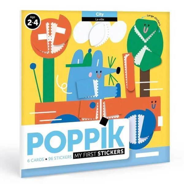 POPPIK - Cartes et gommettes créatives Dans la ville