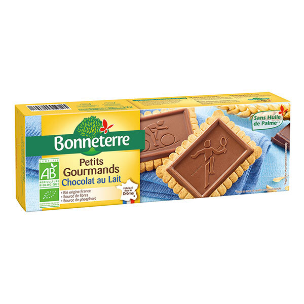 Bonneterre - Petits gourmands chocolat au lait 126g