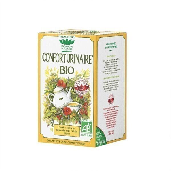 Romon Nature - Tisane Confort urinaire bio - 20 sachets