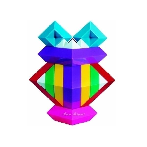 Eduplay - Pyramide arc en ciel