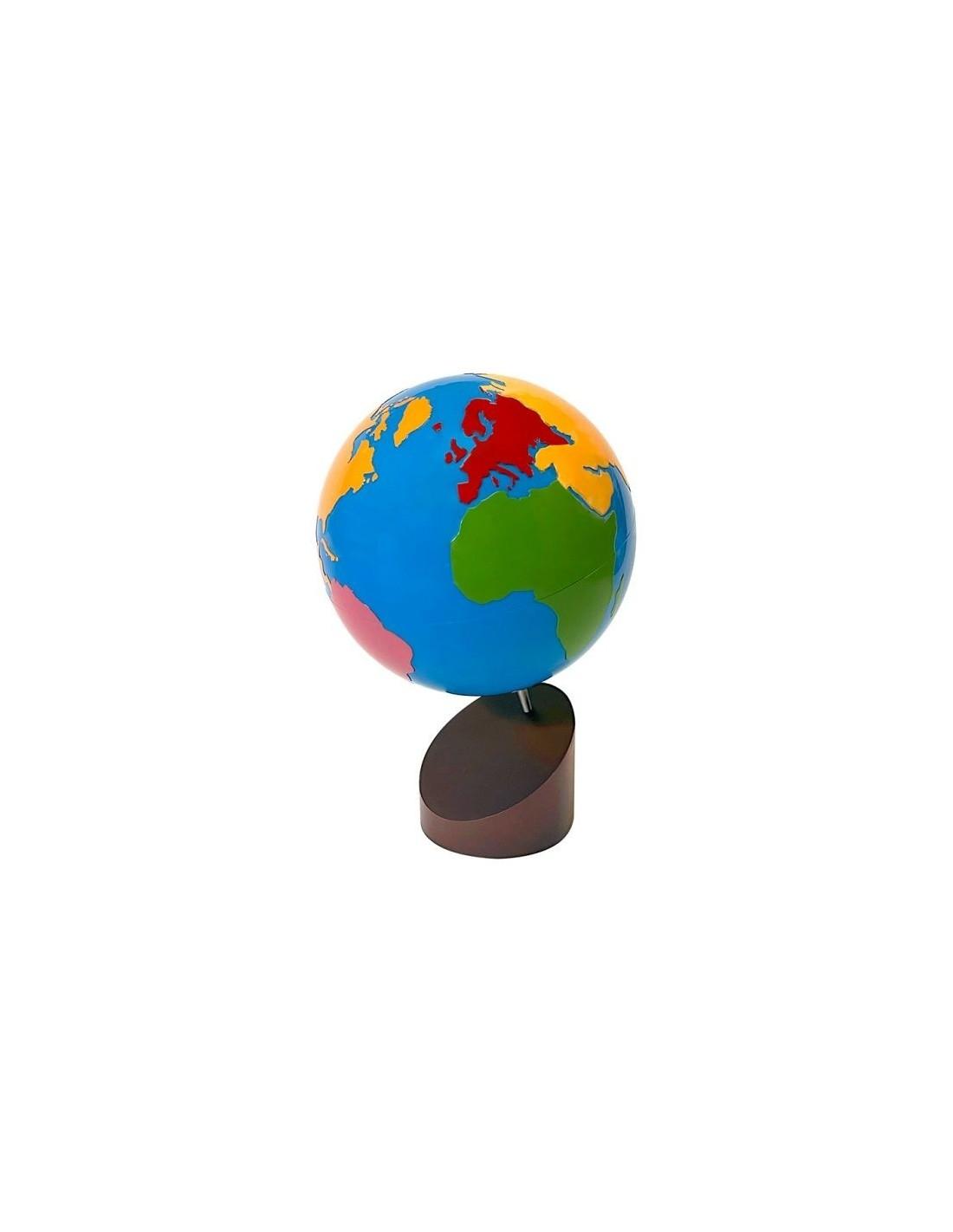 MontessoriSamuserAutrement - Globe parties du monde