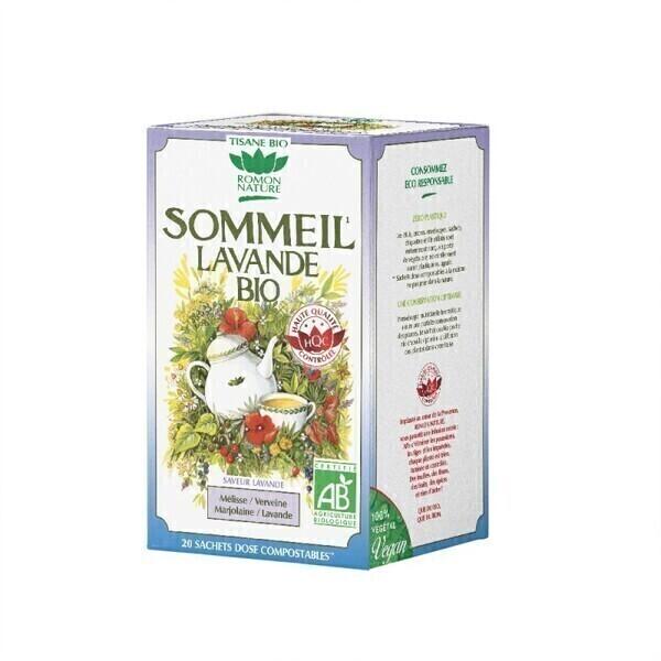 Romon Nature - Tisane Sommeil lavande bio - 20 sachets