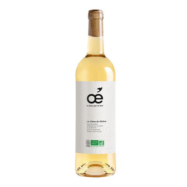 Oé - Le Côtes-du-Rhône AOC - Blanc 75cl