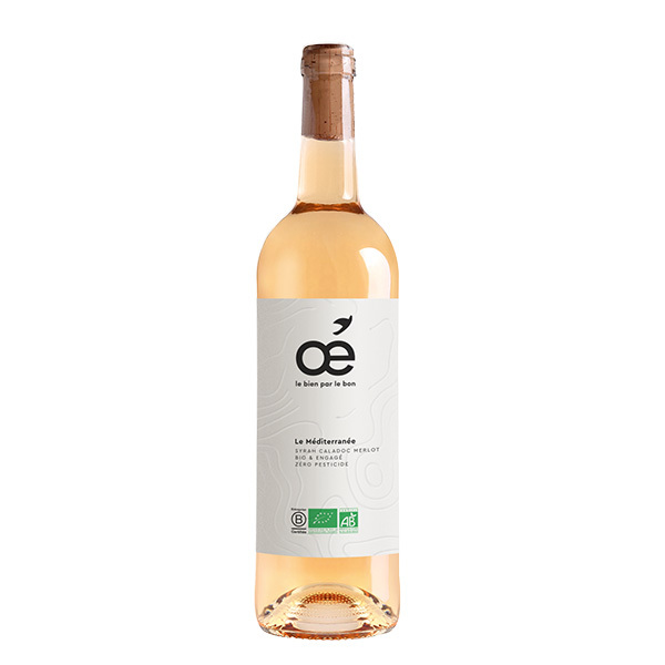 Oé - Le Méditerranée IGP - Rosé 75cl