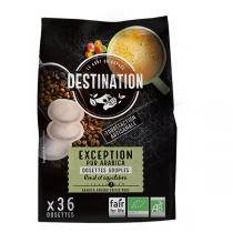 Destination - Exception pur arabica Dosettes souples x36
