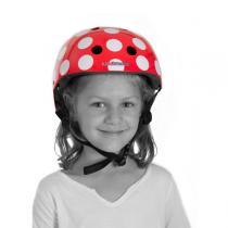 Kiddimoto - Red Dotty Helmet