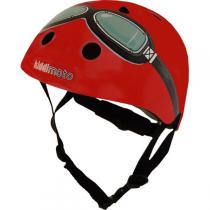 Kiddi Moto - Casque Goggle Rouge