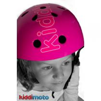 Kiddi Moto - Casque Logo Rose