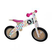 Kiddimoto - Kurve, Pastel Dotty balance bike