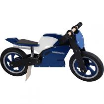 Kiddimoto - Blue Black & White Superbike - Balance Bike