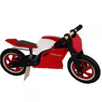Kiddimoto - Balance Bike Red and white