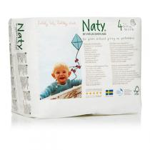 Naty by Nature Babycare - Pull On Pants Size 4 Maxi-Maxi Plus 8-15 kg 22 pcs
