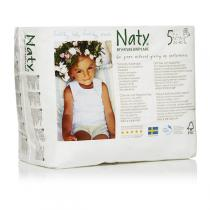 Naty by Nature Babycare - Pull On Pants Size 5 Junior. 12-18 kg, 26-40 lbs 20 pcs