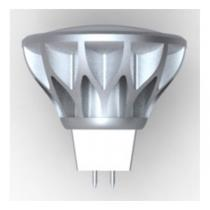 Xanlite - Bombilla LED XXX Evolution GU5.3 5,5W 25W