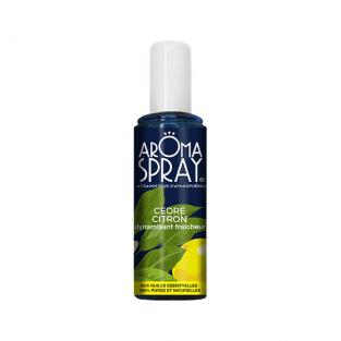 Aromaspray - 100% natural Lemon & Cedar Air Freshener 100ml