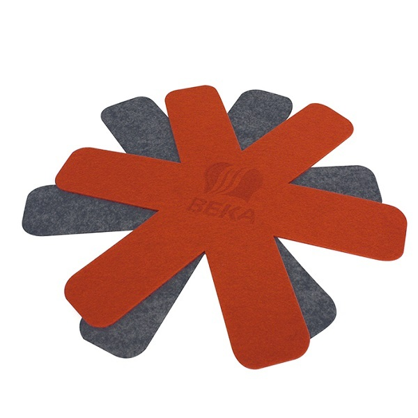 Beka - A Set of 2 Felt protective trivet diam