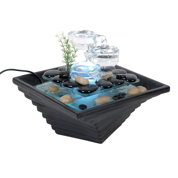 Fontaine d 39 int rieur himalaya zen 39 light acheter sur - Fontaine d appartement zen ...