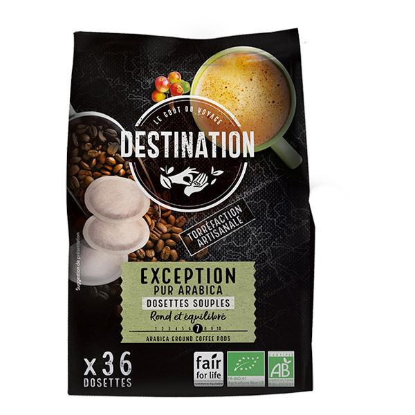 Destination - 36 Kaffeepads Arabica Peru BIO