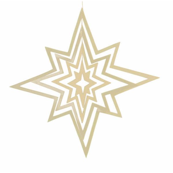 Ecodis - Aufhänger Stern 3D Klein
