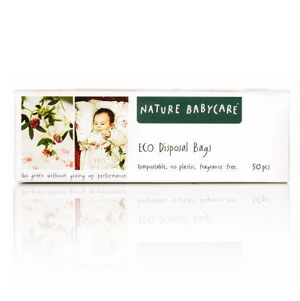 Nature Babycare - Eco Disposable Nappy Bags x50