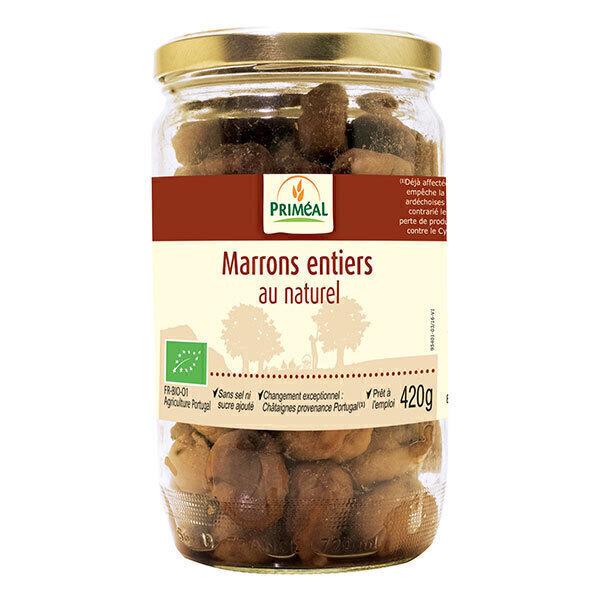 Priméal - Marrons entiers au naturel 420g