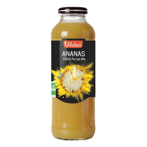 Vitabio - Pur Jus d'Ananas Bio 50cl