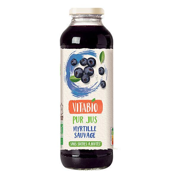 Vitabio - Pur Jus de Myrtille Bio 50cl