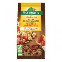 Bonneterre - Céréales fraises et framboises 375g