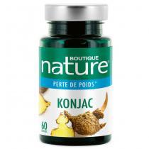 Boutique Nature - Konjac - Minceur et Perte de poids - 60 gélules