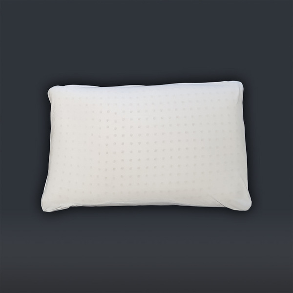 Biosense - Oreiller MATARA 100% latex naturel et coton 60x40x6