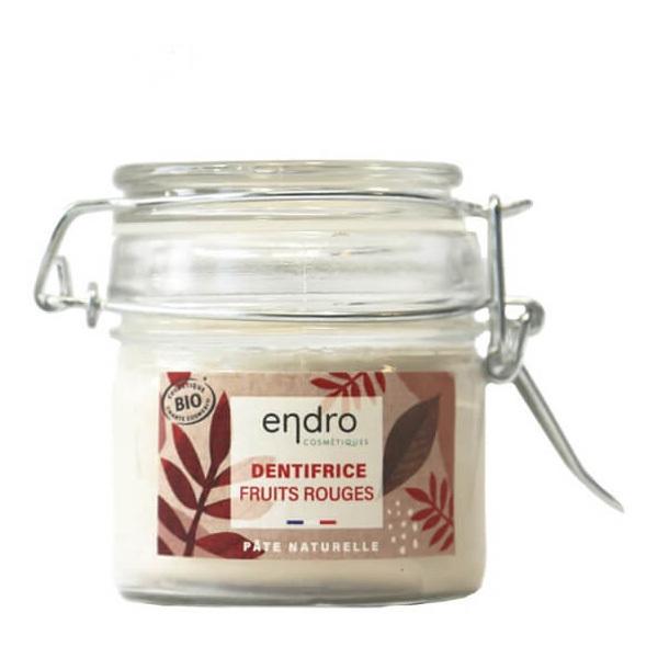 Endro Cosmétiques - Dentifrice en pâte fruits rouges 100ml