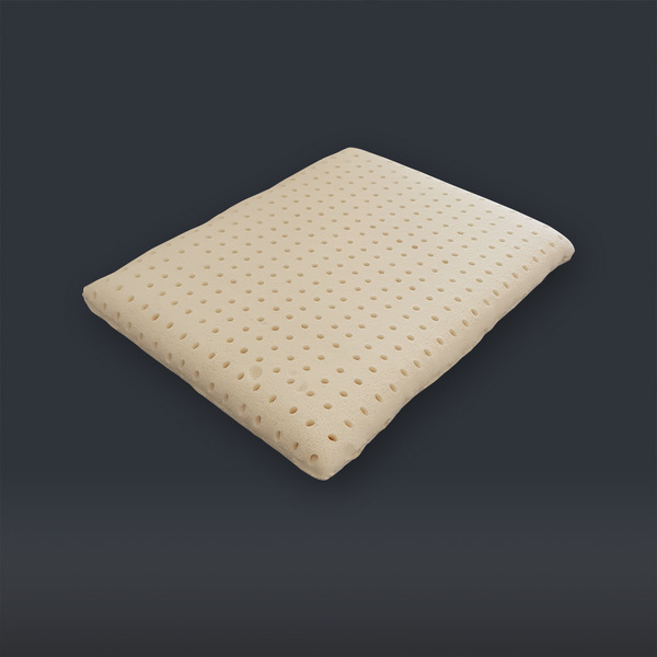 Biosense - Oreiller JAFFNA Bi-Zone 100% latex naturel et coton 60x40x13