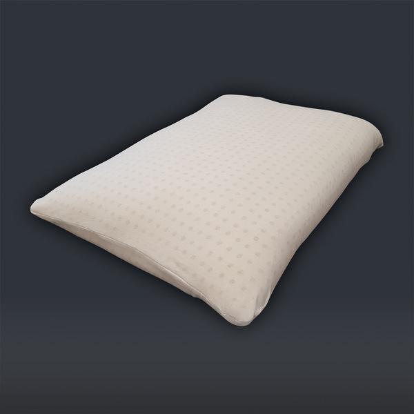 Biosense - Oreiller MATARA flocons 100% latex naturel et coton 50x70x8