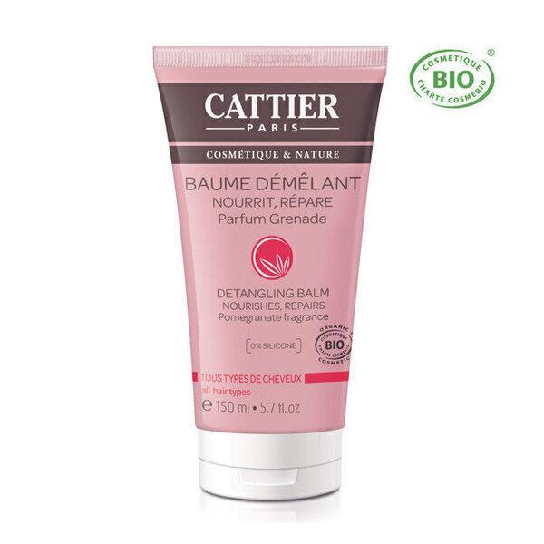 Cattier - Baume démêlant bio - Tous types de cheveux 150ml
