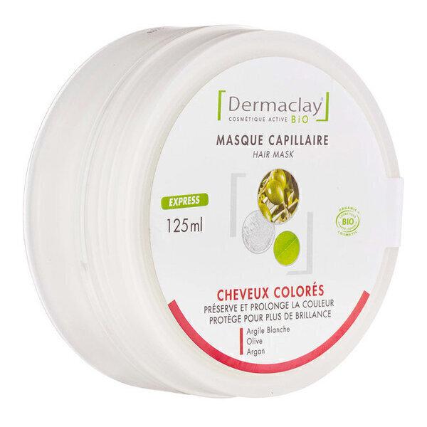 Dermaclay - Masque capillaire Cheveux colorés bio Express 125ml
