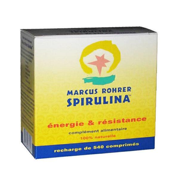 Marcus Rohrer - Spiruline Recharge 540 comprimés - Cure 3 mois