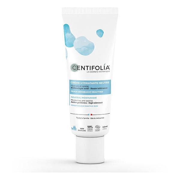 Centifolia - Crème hydratante visage neutre 40ml