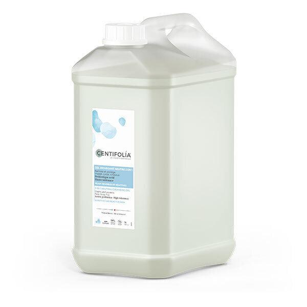 Centifolia - Gel moussant neutre 3en1 5L