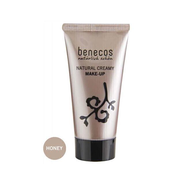 Benecos - Fond de Teint Crème Bio 30ml Teinte Miel - Benecos